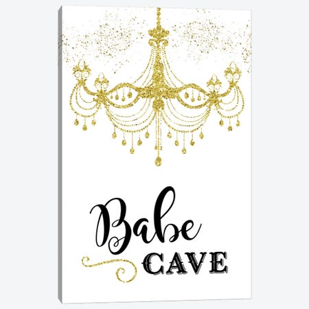 Babe Cave Canvas Print #AMD73} by Amanda Murray Canvas Art Print