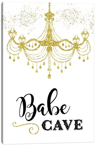 Babe Cave Canvas Art Print