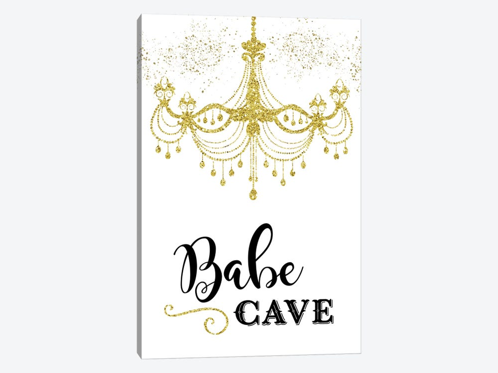 Babe Cave by Amanda Murray 1-piece Canvas Wall Art