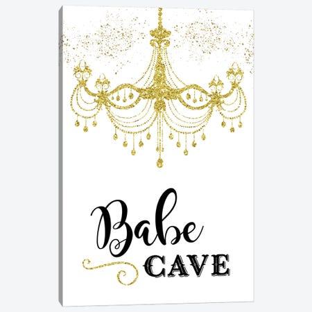 Babe Cave Canvas Print #AMD73} by Amanda Murray Canvas Art Print