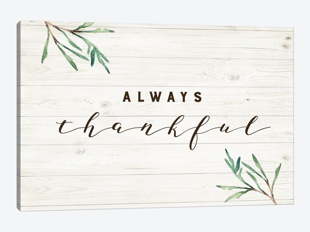 Always Thankful by Amanda Murray 1-piece Canvas Print