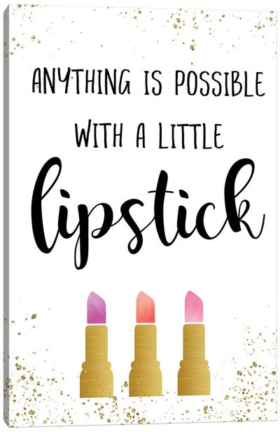 Anything is Possible Canvas Art Print