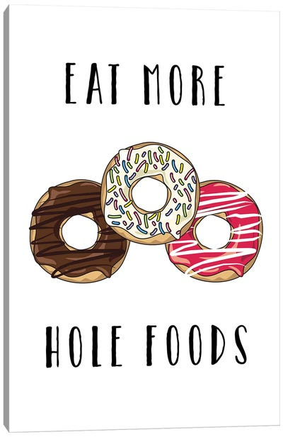 Hole Foods Canvas Art Print