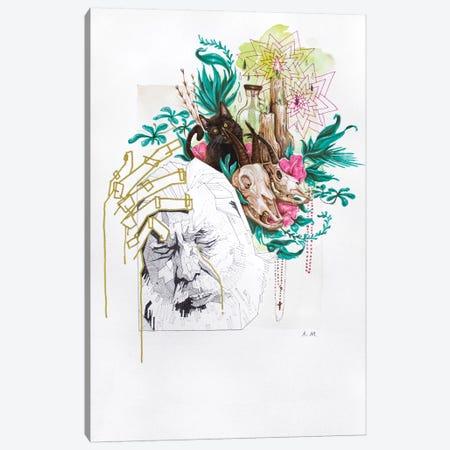 The Cursed Canvas Print #AME11} by Armando Mesias Canvas Art
