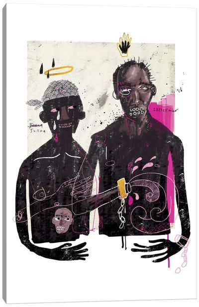 The Slave Lovers Canvas Art Print