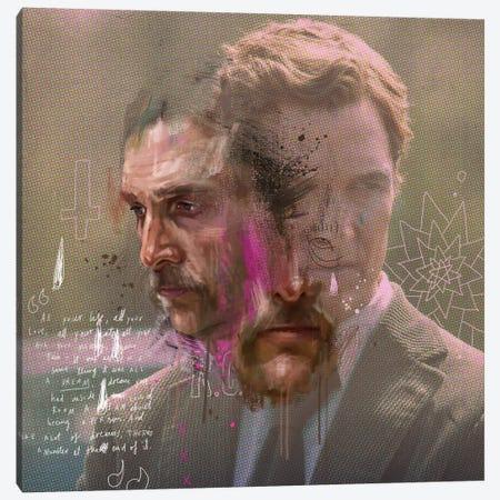 True Detective Canvas Print #AME16} by Armando Mesias Canvas Print