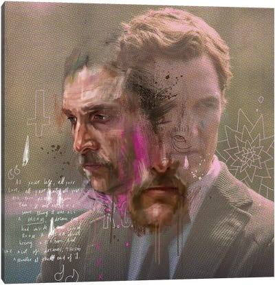 True Detective Canvas Art Print