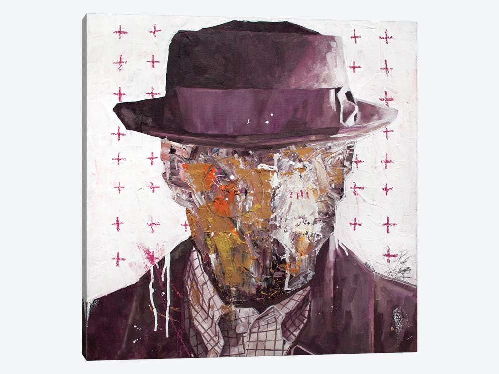Walter by Armando Mesias 1-piece Canvas Print