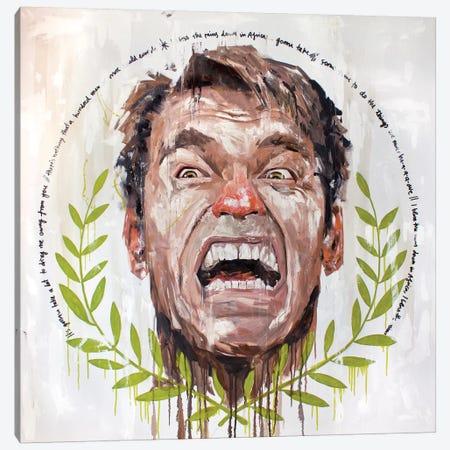 Arnie Canvas Print #AME29} by Armando Mesias Art Print