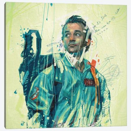 Ghostbusters Canvas Print #AME2} by Armando Mesias Canvas Wall Art