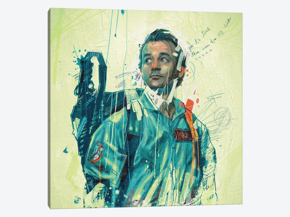 Ghostbusters by Armando Mesias 1-piece Canvas Print