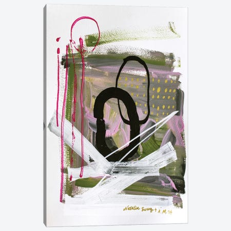 Collab Canvas Print #AME32} by Armando Mesias Canvas Art