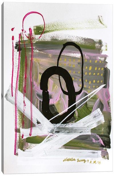Collab Canvas Art Print