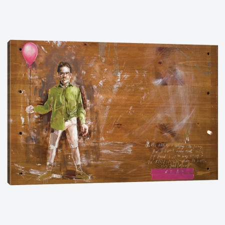 Dad Canvas Print #AME33} by Armando Mesias Canvas Artwork