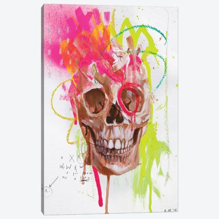 DH Bones Canvas Print #AME37} by Armando Mesias Canvas Print