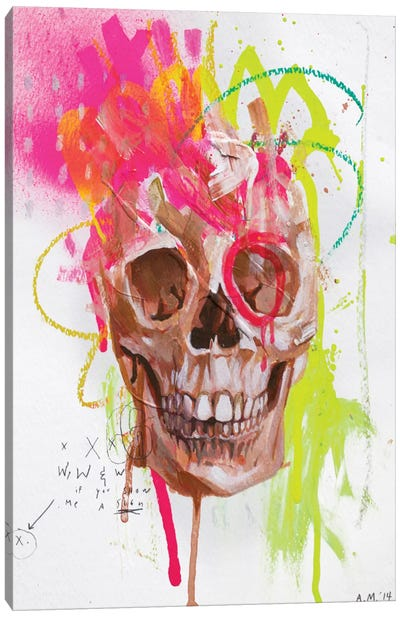 DH Bones Canvas Art Print