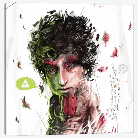 Dylan II Canvas Print #AME38} by Armando Mesias Canvas Art