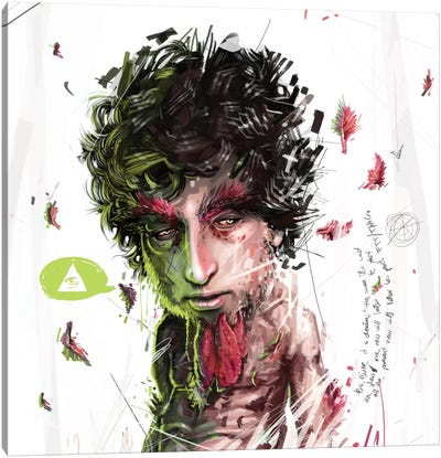 Dylan II Canvas Art Print