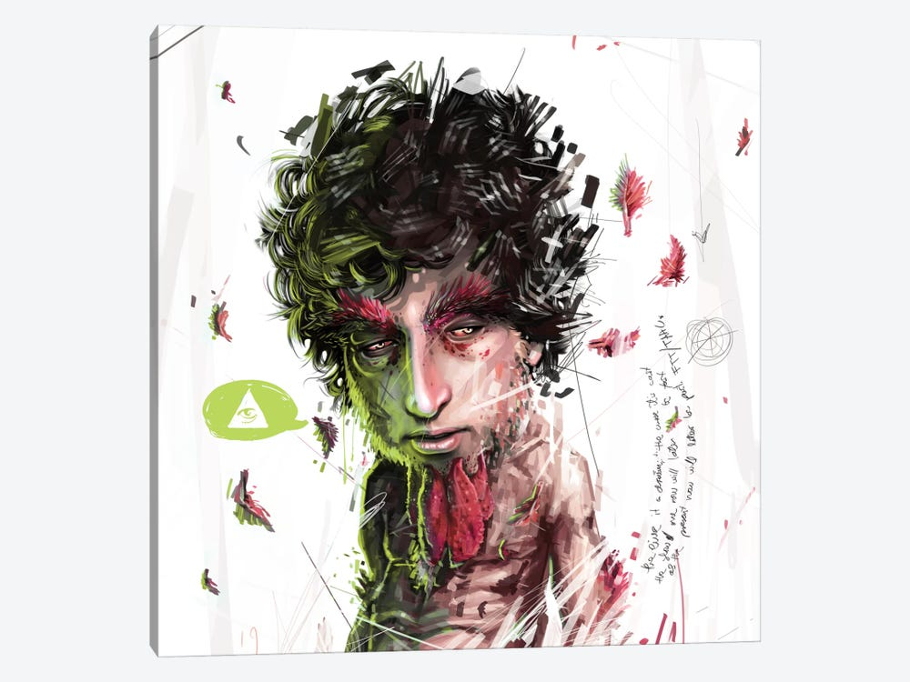 Dylan II by Armando Mesias 1-piece Canvas Wall Art