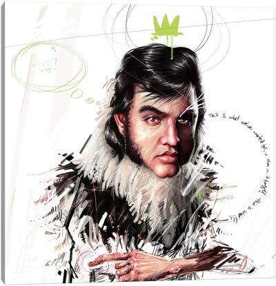 Elvis Canvas Print #AME39