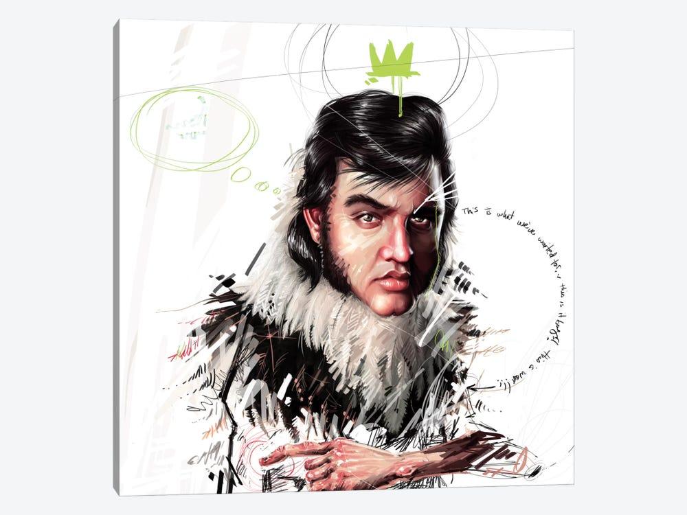Elvis by Armando Mesias 1-piece Canvas Print
