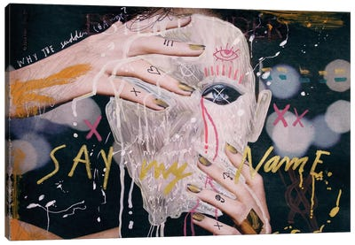 Say My Name Canvas Art Print