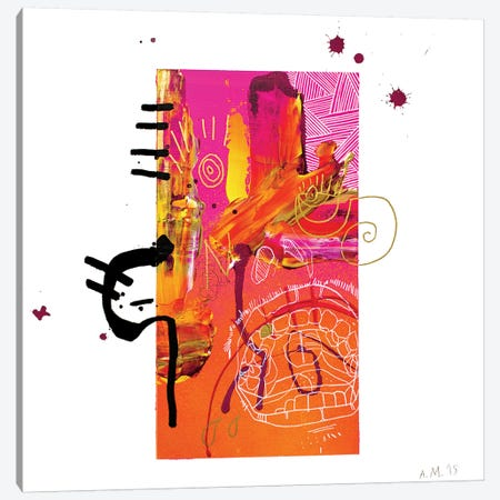 Majo I Canvas Print #AME45} by Armando Mesias Canvas Wall Art
