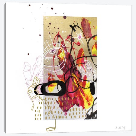 Majo III Canvas Print #AME47} by Armando Mesias Canvas Art