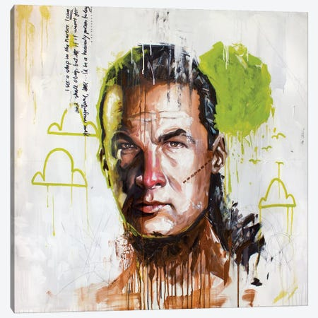 Seagal Canvas Print #AME48} by Armando Mesias Art Print