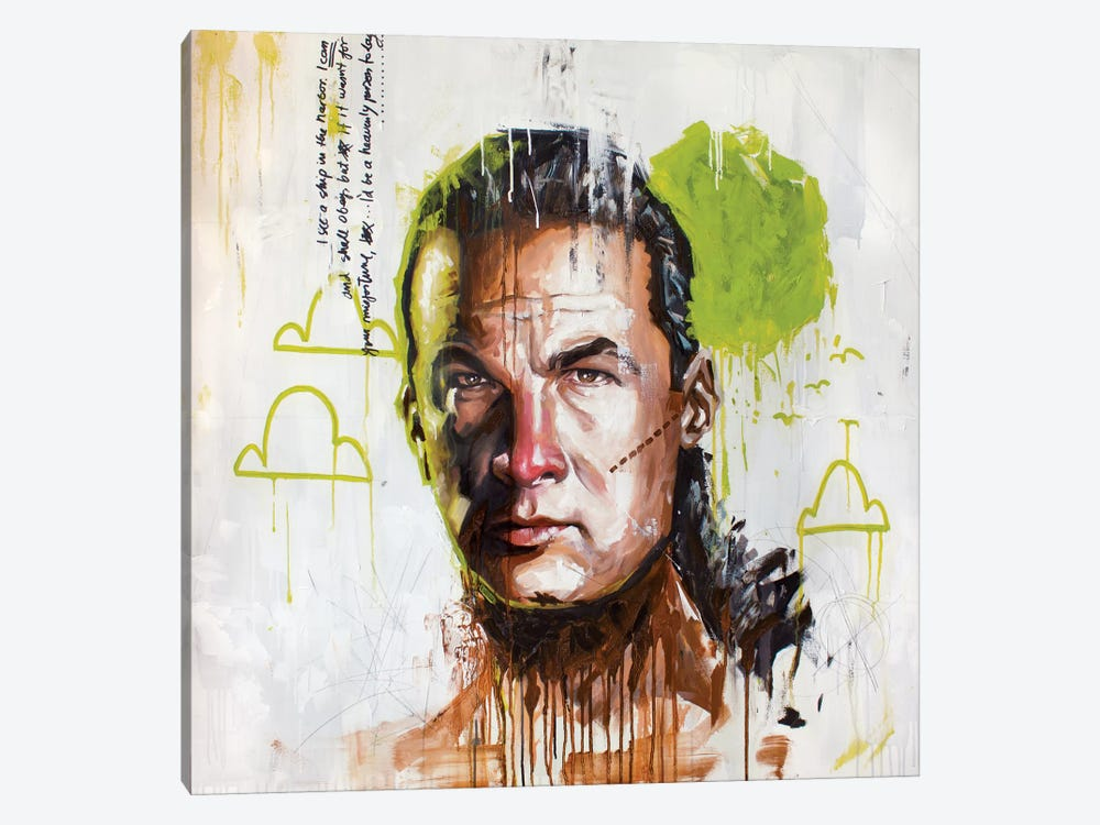 Seagal by Armando Mesias 1-piece Canvas Print
