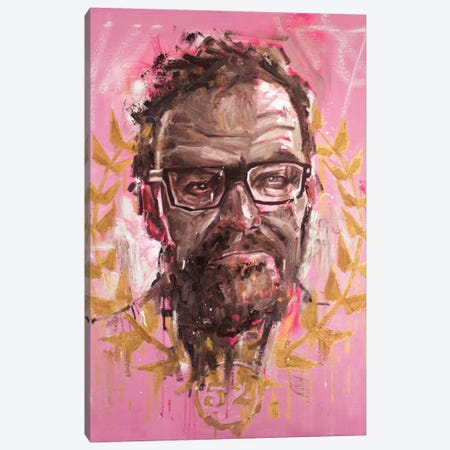 Mr. Lambert Canvas Print #AME4} by Armando Mesias Art Print