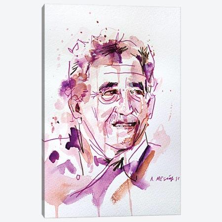 Gabo (Gabriel José de la Concordia García Márquez) Canvas Print #AME52} by Armando Mesias Canvas Artwork