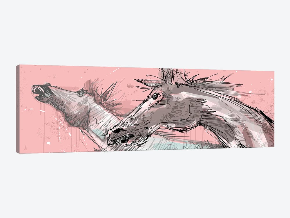 Sementales by Armando Mesias 1-piece Canvas Art Print