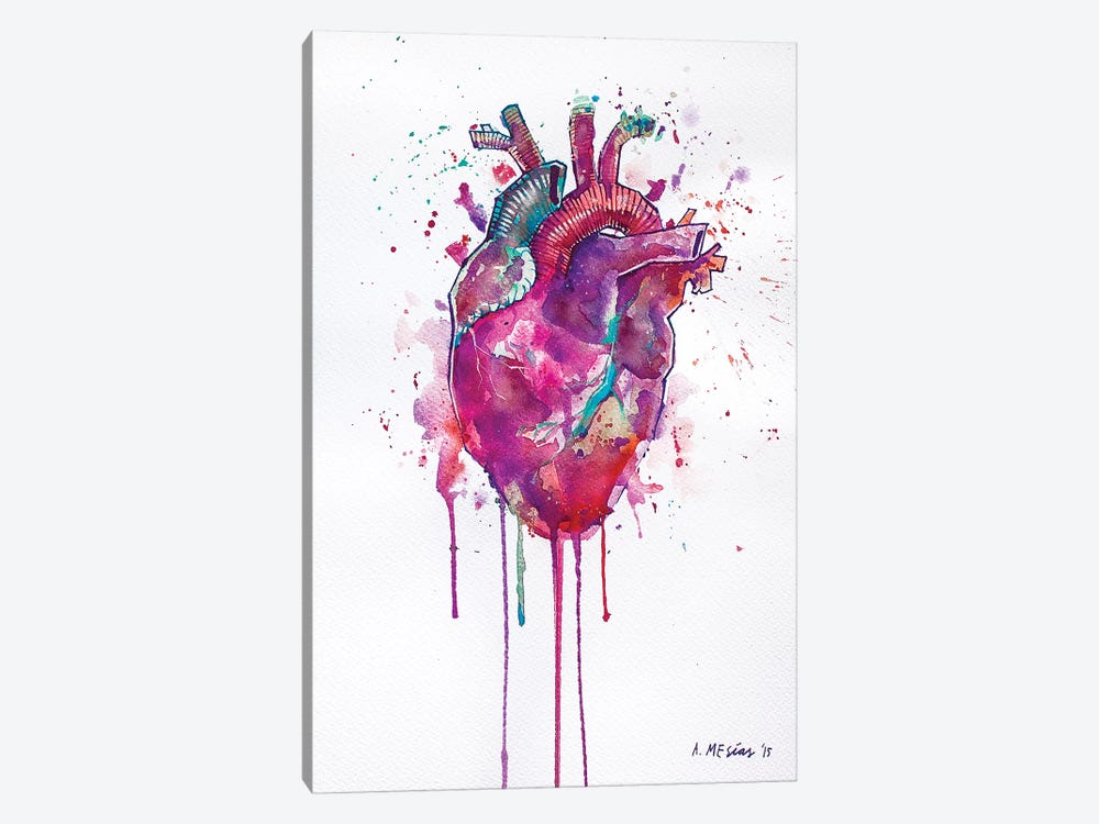 Tell Tale Heart by Armando Mesias 1-piece Canvas Art