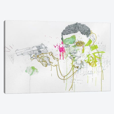 The Dead End Kid Canvas Print #AME60} by Armando Mesias Canvas Print