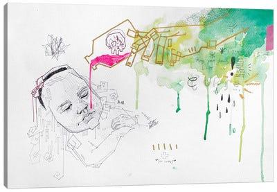 The Innocent Poisoned Canvas Art Print