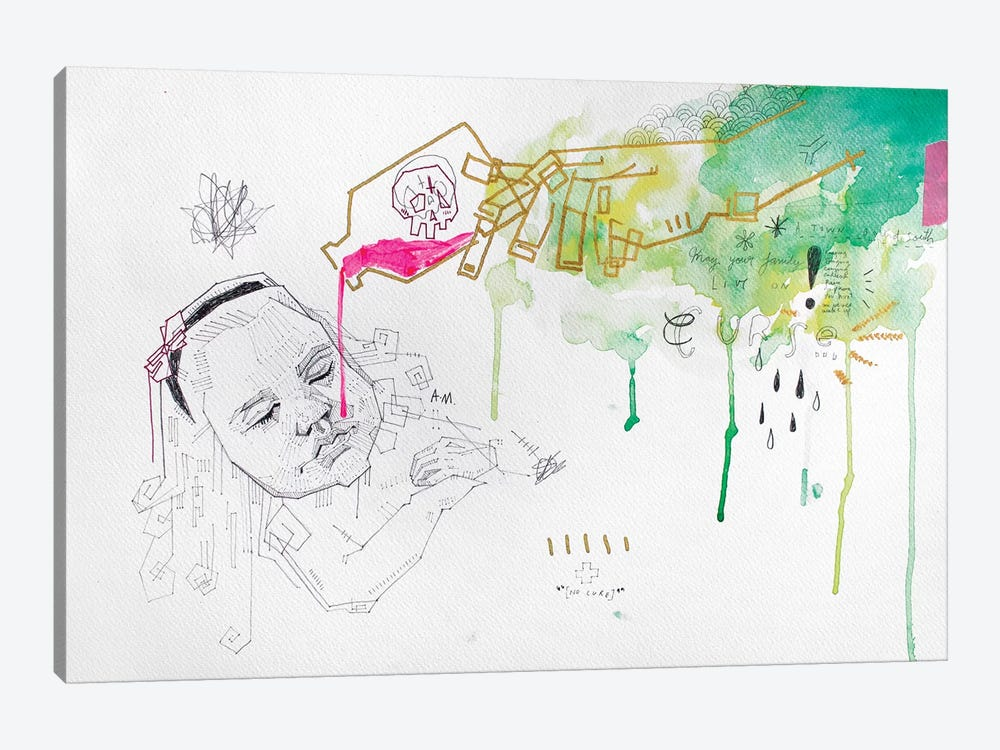 The Innocent Poisoned by Armando Mesias 1-piece Canvas Art Print