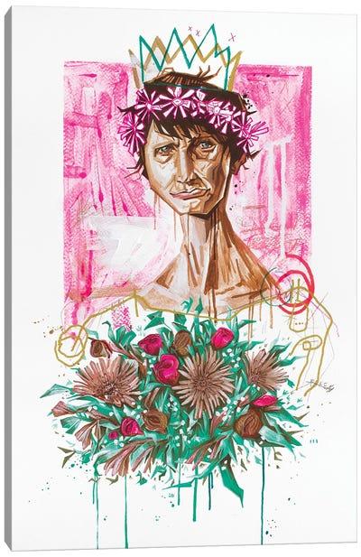 The Slum Queen Canvas Art Print