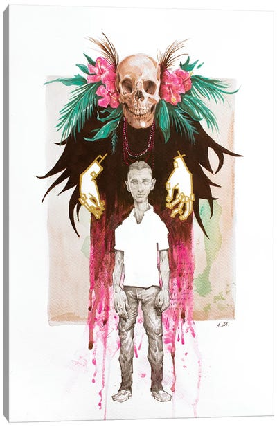 The Witch Doctor Canvas Art Print