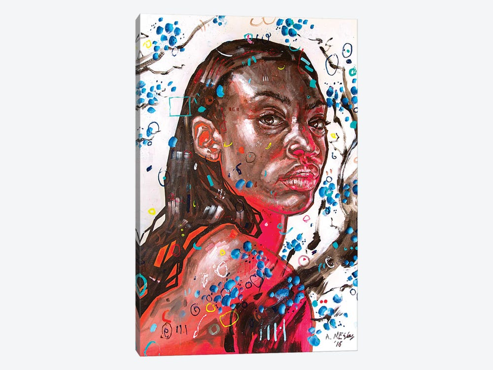 Alexandra by Armando Mesias 1-piece Canvas Art Print