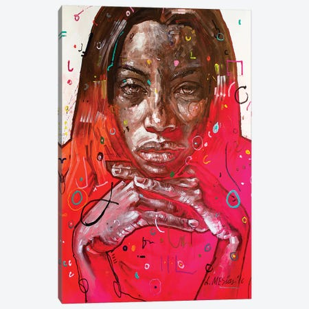 Alexandra Pop Canvas Print #AME67} by Armando Mesias Canvas Wall Art