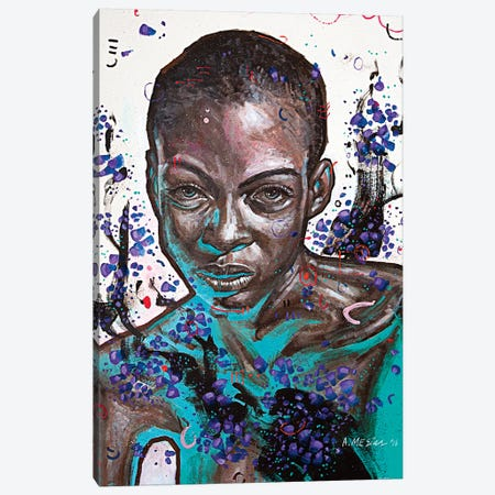 Eliana Canvas Print #AME72} by Armando Mesias Canvas Wall Art