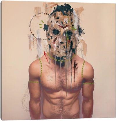Jason Mask Canvas Art Print