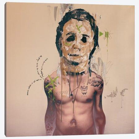 Michael Mask Canvas Print #AME78} by Armando Mesias Canvas Artwork