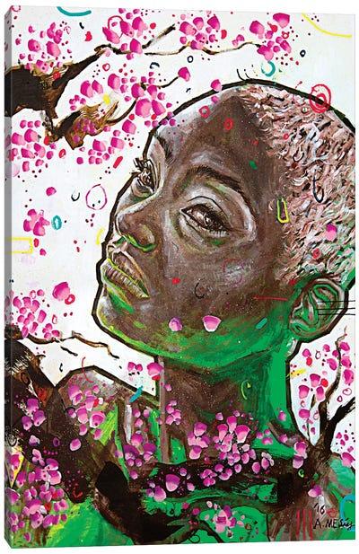 Sayori Canvas Art Print