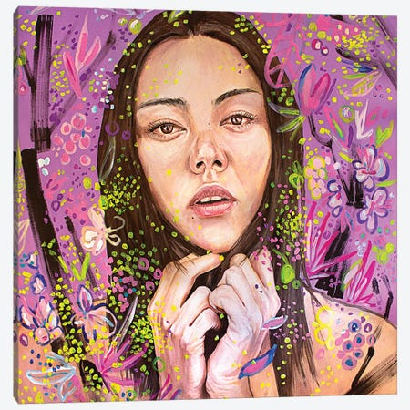 Yuriko Canvas Print #AME82} by Armando Mesias Canvas Print