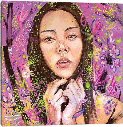 Yuriko Canvas Art Print