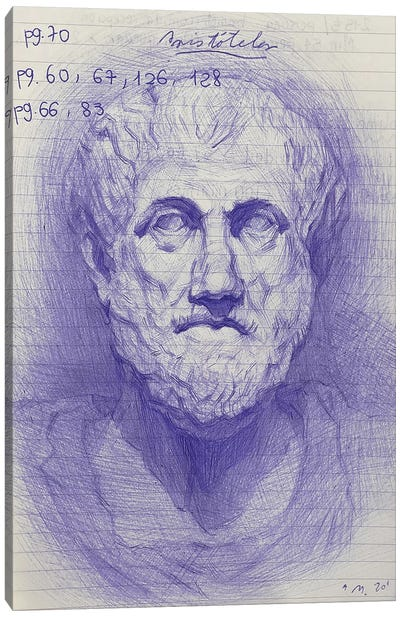 Aristotle Canvas Art Print