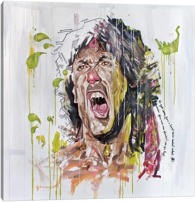 Stallone Canvas Print #AME9