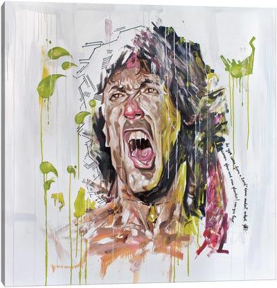 Stallone Canvas Art Print